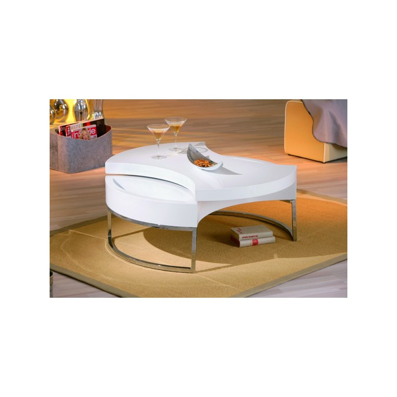 Table basse pivotante turn - Table basse pivotante ...