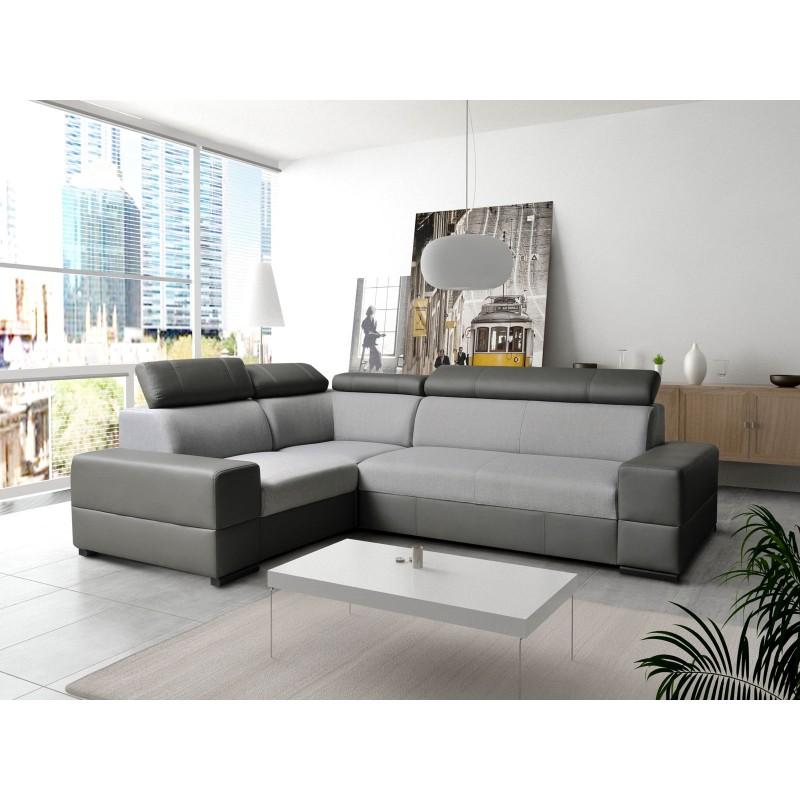 canap d 39 angle convertible capre avec lit gigogne et coffre. Black Bedroom Furniture Sets. Home Design Ideas