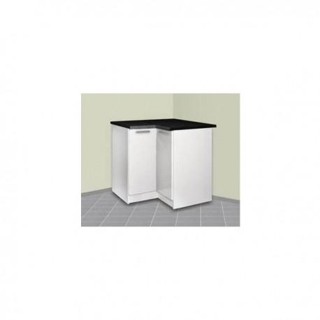 meuble de cuisine d'angle bas 90x90 cm tara - Meuble Cuisine Angle Bas