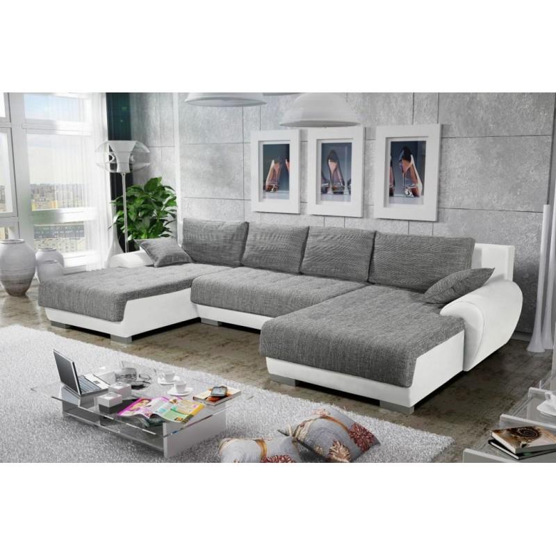 canap d 39 angle en u convertible et r versible teren fonction lit. Black Bedroom Furniture Sets. Home Design Ideas