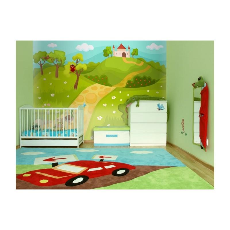 Papier peint chambre d enfant 3d chambre de bande - Papier peint chambre enfant ...