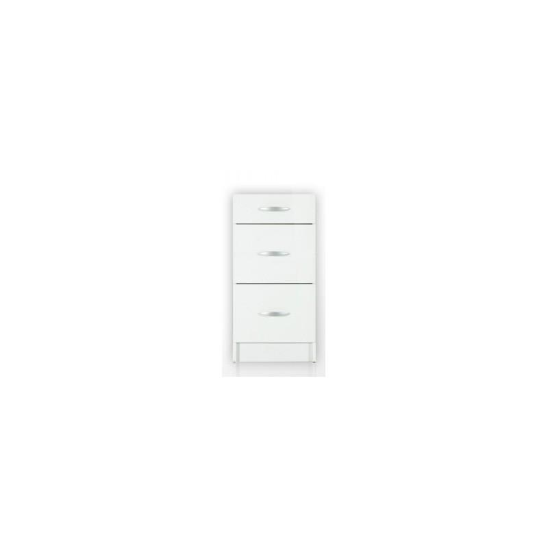 Gallery of meuble de cuisine bas tiroirs cm oxane laqu for Meuble bas cuisine 50 cm largeur
