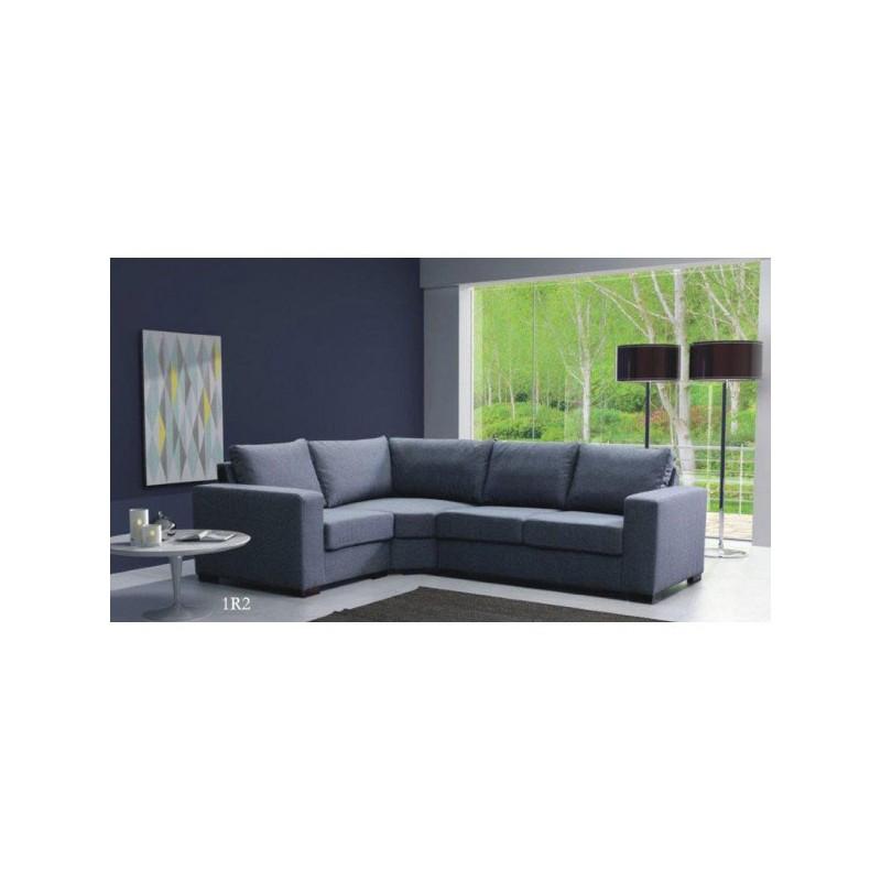 canap d 39 angle 7 places lili modulable en tissu ou simili cuir. Black Bedroom Furniture Sets. Home Design Ideas