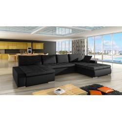 Canapé d'angle panoramique CARIO