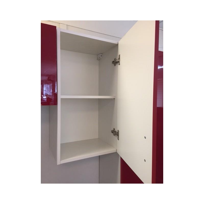 meuble de cuisine haut oxane 30 cm 1 porte laqu. Black Bedroom Furniture Sets. Home Design Ideas