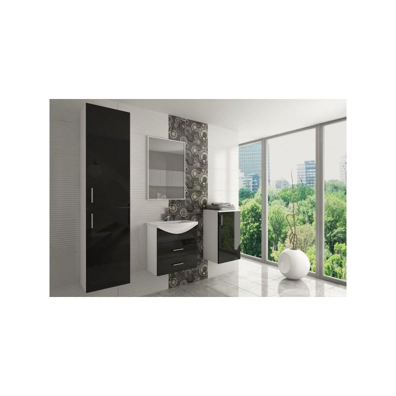 salle de bain compl te ocean laqu e avec vasque pas cher. Black Bedroom Furniture Sets. Home Design Ideas