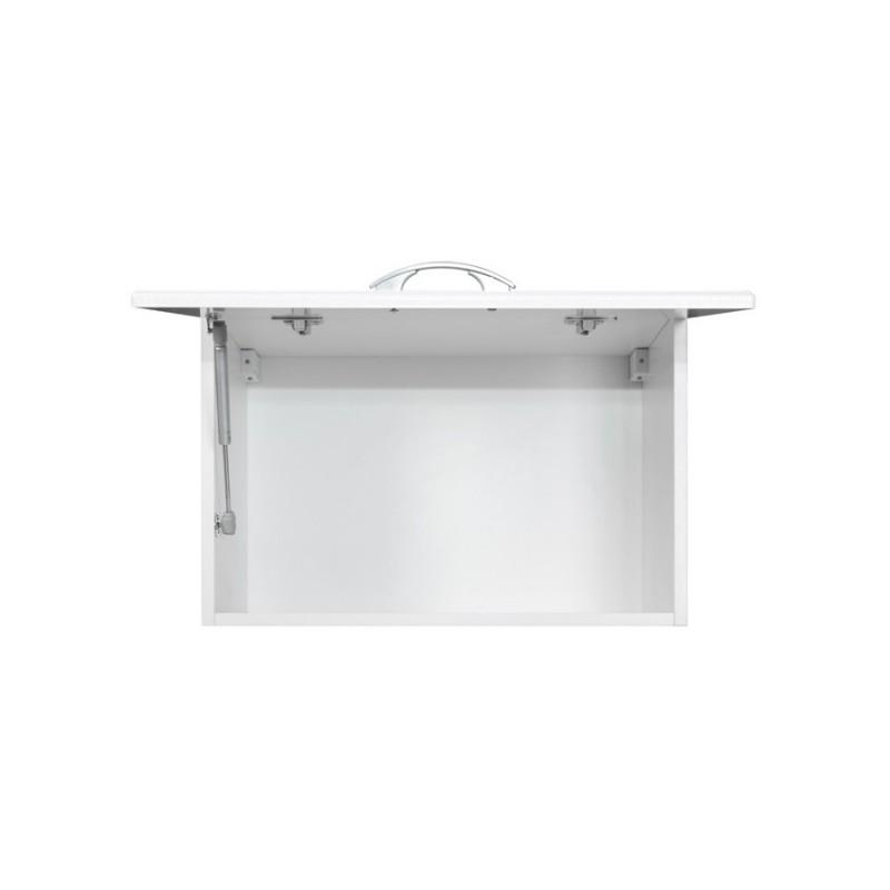 meuble de cuisine dina 1 portes 80 cm m lamin e moulures. Black Bedroom Furniture Sets. Home Design Ideas