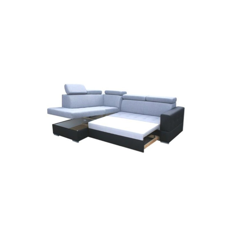 canap d 39 angle convertible softy 4 places. Black Bedroom Furniture Sets. Home Design Ideas