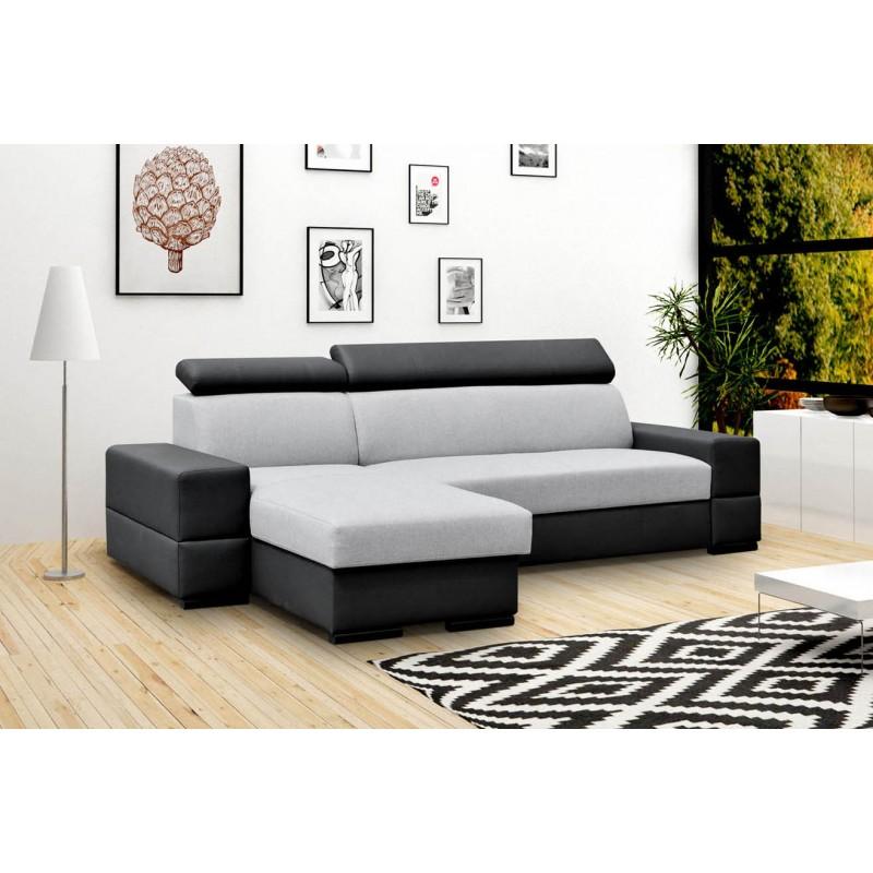 canap panoramique convertible capra. Black Bedroom Furniture Sets. Home Design Ideas