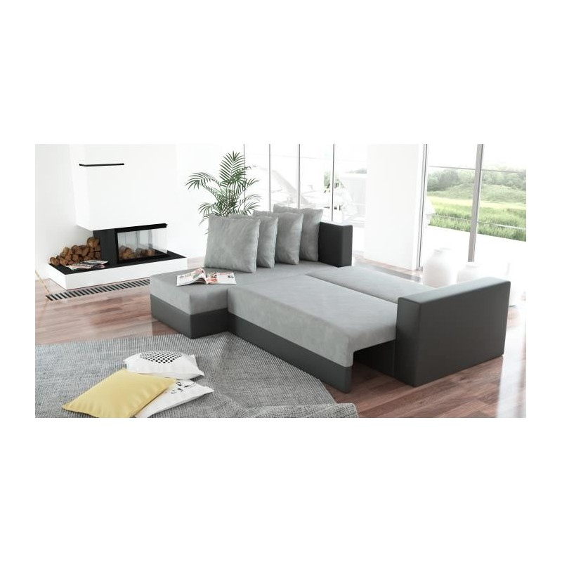 canap panoramique convertible et r versible arion. Black Bedroom Furniture Sets. Home Design Ideas