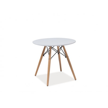 Table scandinave DAW inspiration Eames SOHO blanc