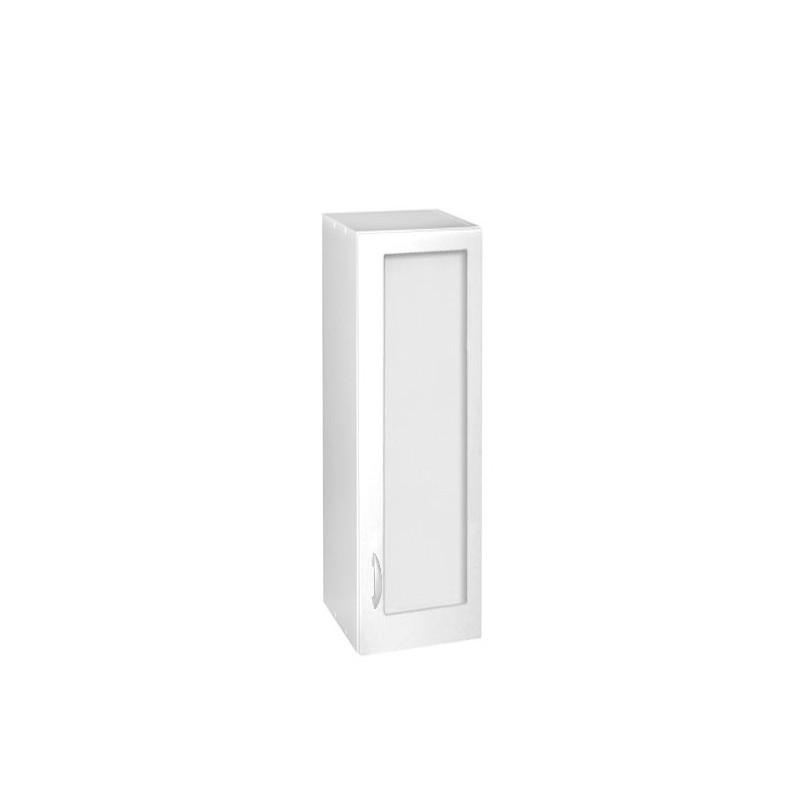 meuble cuisine colonne haut 1 porte vitrine 40 cm oxane laqu brillant avec 2 tag res. Black Bedroom Furniture Sets. Home Design Ideas