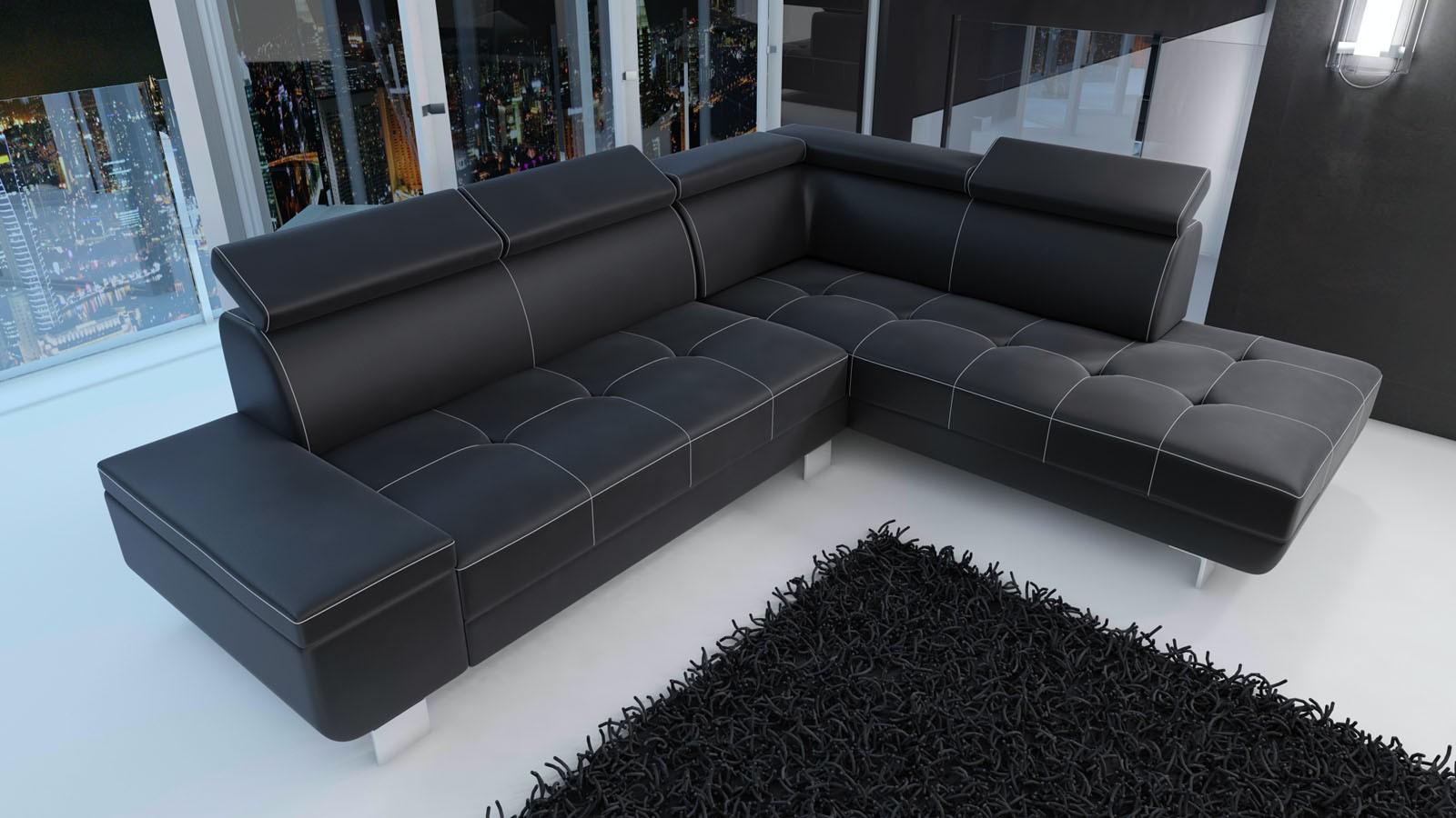 Canapé d angle moderne tendance pas cher Plusieurs couleurs gris