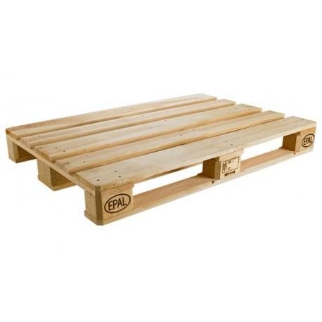 Palette Europe neuve 80 x 120 cm pour creation mobilier meuble
