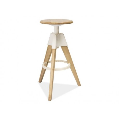 Tabouret en bois design BODO style scandinave