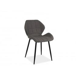 Chaise design HALS avec pieds en métal noir