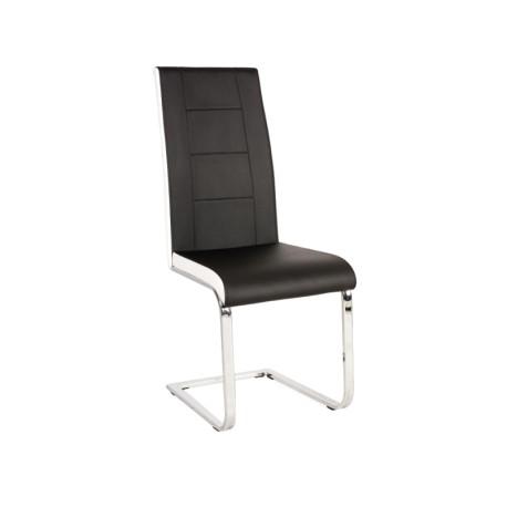 Chaise design JANYCE en simili-cuir