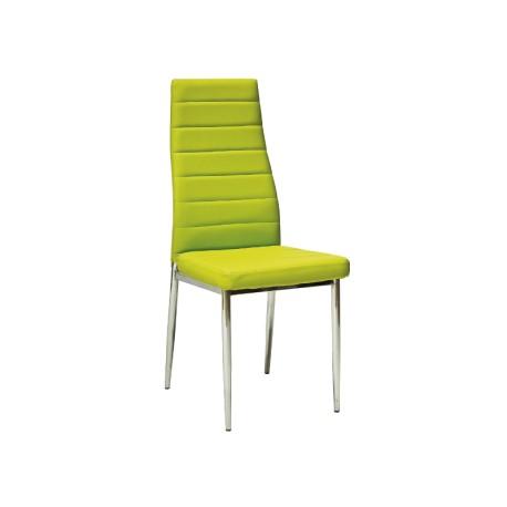 Chaise design LUCILE en simili-cuir (12 coloris)