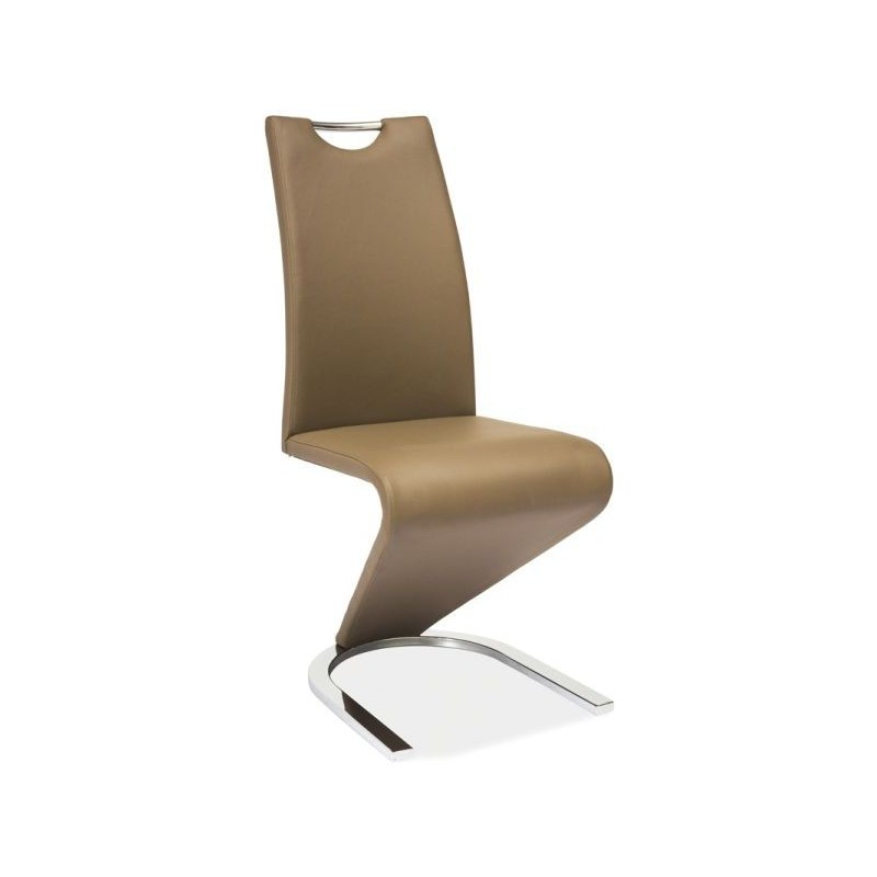 Chaise Guila Contemporaine En Simili Cuir