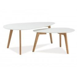 Tables basses gigognes MILANA style scandinave