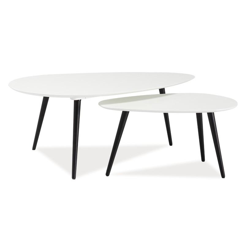tables basses gigognes nolan style scandinave. Black Bedroom Furniture Sets. Home Design Ideas