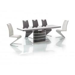 Table FANO avec rallonge noir