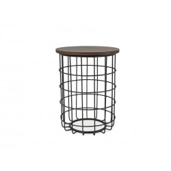 Table d'appoint HITRA style industriel