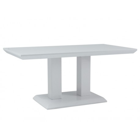 Table basse rectangulaire TOWER blanche