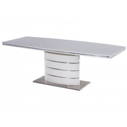 Table FANO avec rallonge blanc