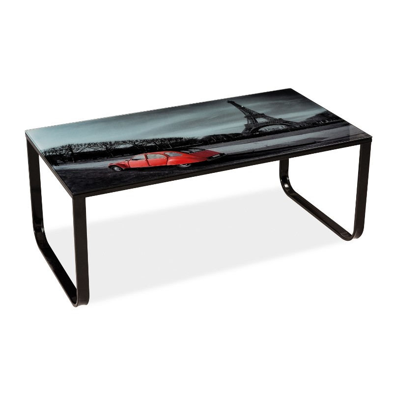 table basse taxi ii imprim paris. Black Bedroom Furniture Sets. Home Design Ideas