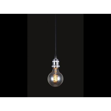Suspension lumière NILS style industriel