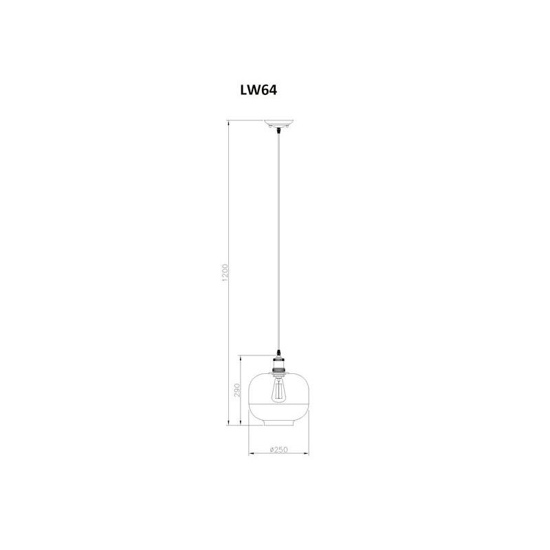 Suspension Lumi Re Marzia Design