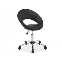 Chaise pivotante JAO en cuir écologique