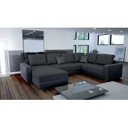 canap en u panoramique grand canap d 39 angle de 6 7 8 et 9 places tr s spacieux tendencio. Black Bedroom Furniture Sets. Home Design Ideas