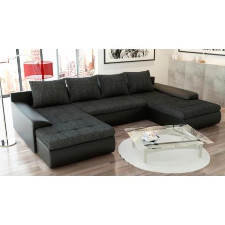canap panoramique convertible joyu deux m ridiennes. Black Bedroom Furniture Sets. Home Design Ideas