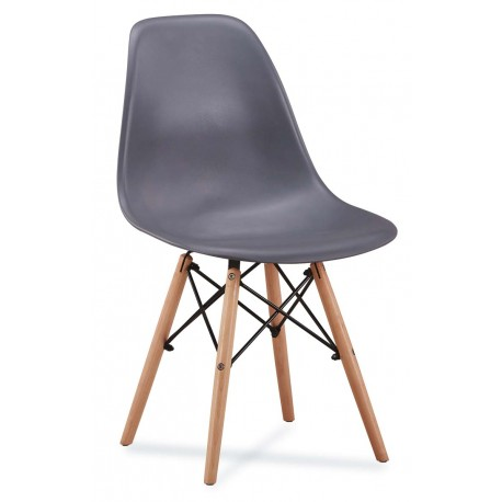 Chaise scandinave AMY couleur pastel