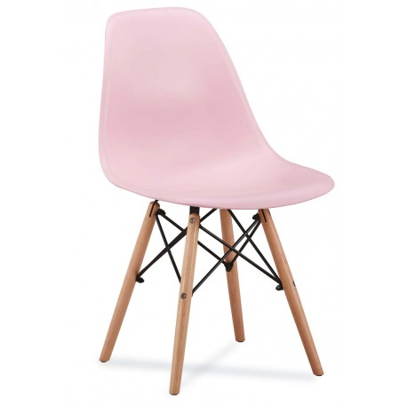 chaise scandinave amy couleur pastel - Chaise Scandinave
