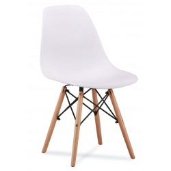Chaise scandinave AMY couleur pastel