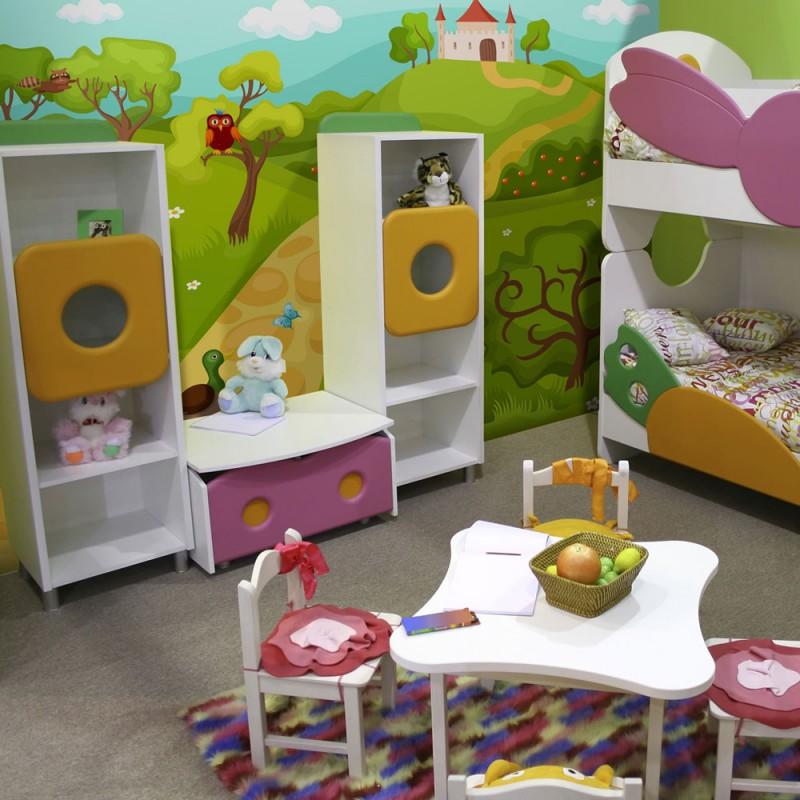 Papier peint pour chambre d 39 enfant ch teau magique - Papier peint pour chambre d enfant ...