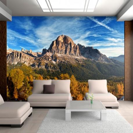 Papier peint - Paysage merveilleux Dolomites