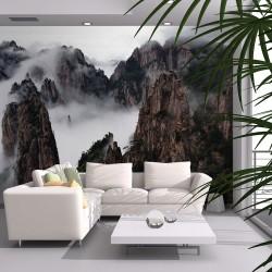 Papier peint - Mer de nuages, Monts Huang Shan