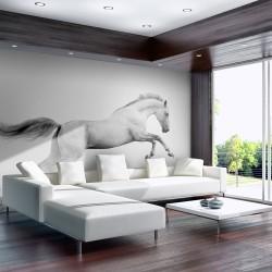 Papier peint - Etalon blanc
