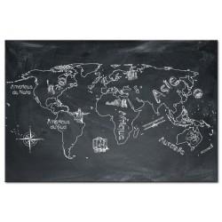Tableau Voyage autour du Monde