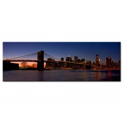 Tableau Pont de Brooklyn - panorama