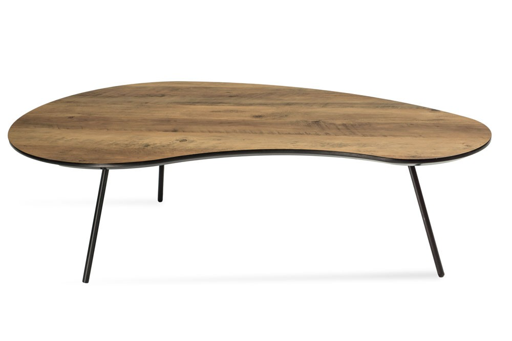 Table basse klara2 en bois style scandinave