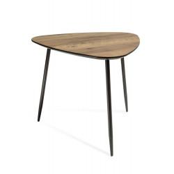 Table basse KLARA3 en bois style scandinave