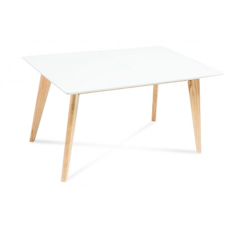 Table DANTE plateau blanc MDF style scandinave