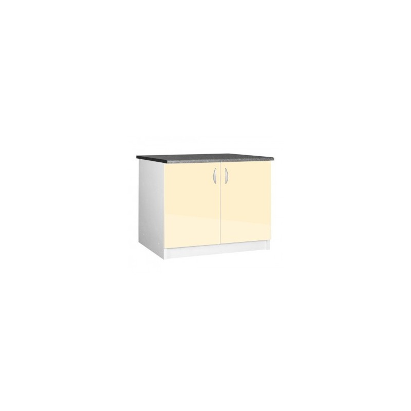 L ment bas cuisine sous vier 2 portes oxane 120 cm - Porte element cuisine ...