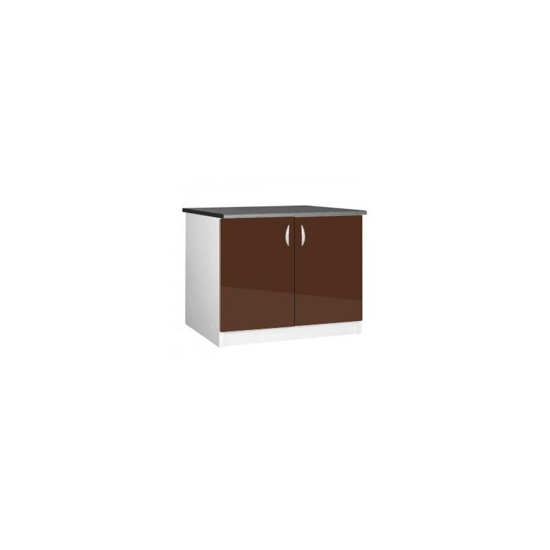 l ment bas cuisine sous vier 2 portes oxane 120 cm. Black Bedroom Furniture Sets. Home Design Ideas
