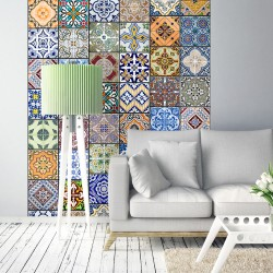 Papier peint COLORFUL MOSAIC
